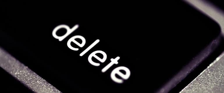 automatic deletion